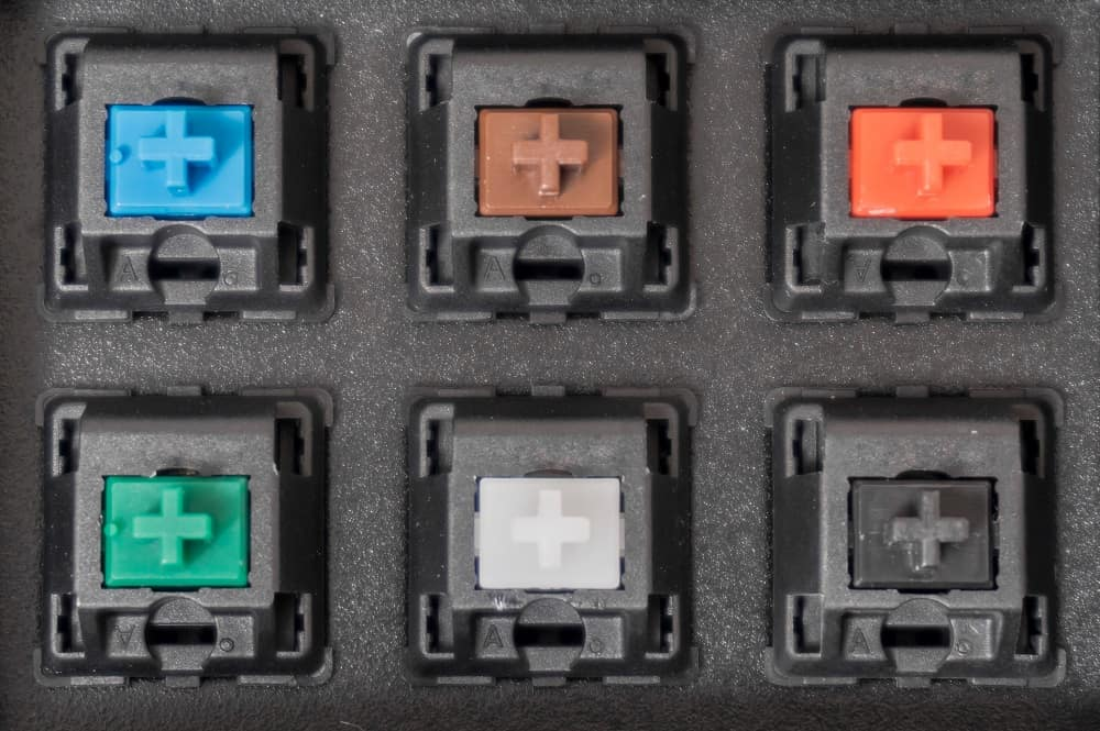 types of mechanical switches
